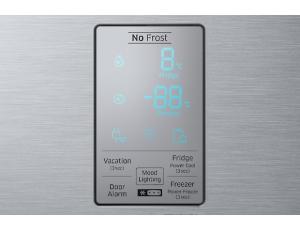 Combina frigorifica Samsung RB34K6032SS, All Around, Capacitate 344L, Capacitate neta congelator: 98l, Capacitate neta frigider: 246l, Inaltime 1917mm, Latime: 600mm, Adancime 664mm, Functii racire: N5