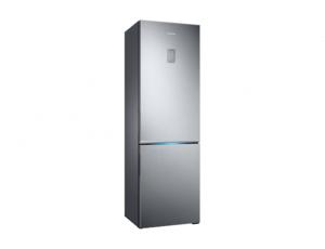 Combina frigorifica Samsung RB34K6032SS, All Around, Capacitate 344L, Capacitate neta congelator: 98l, Capacitate neta frigider: 246l, Inaltime 1917mm, Latime: 600mm, Adancime 664mm, Functii racire: N2