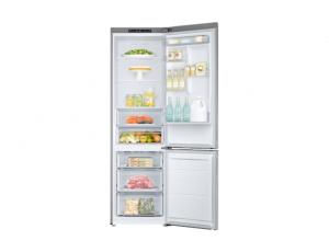 Combina frigorifica Samsung RB37J500MSA, All Around, Capacitate 387L, Capacitate neta congelator: 98l, Capacitate neta frigider: 255l, Inaltime 2010mm, Latime: 595mm, Adancime 675mm, Functii racire: N5