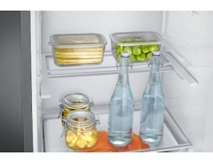 Combina frigorifica Samsung RB37J546MSA, All Around, Capacitate 353L, Capacitate neta congelator: 98l, Capacitate neta frigider: 255l, Inaltime 2010mm, Latime: 595mm, Adancime 675mm, Functii racire: N7