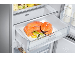 Combina frigorifica Samsung RB38J7530SR, All Around, Capacitate 373L, Capacitate neta congelator: 130l, Capacitate neta frigider: 243l, Inaltime 1927mm, Latime: 595mm, Adancime 650mm, Functii racire: 7