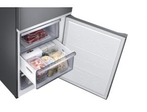 Combina frigorifica Samsung RB38R7717S9, Twin Cooling Plus, Capacitate 382L, Capacitate neta congelator: 130l, Capacitate neta frigider: 252l, Inaltime 1927mm, Latime: 595mm, Adancime 650mm, Functii r7