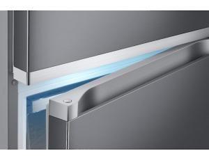 Combina frigorifica Samsung RB41R7837S9, Twin Cooling Plus, Capacitate 406L, Capacitate neta congelator: 130l, Capacitate neta frigider: 276l, Inaltime 2016mm, Latime: 595mm, Adancime 650mm, Functii r6