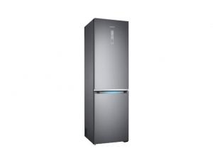 Combina frigorifica Samsung RB41R7837S9, Twin Cooling Plus, Capacitate 406L, Capacitate neta congelator: 130l, Capacitate neta frigider: 276l, Inaltime 2016mm, Latime: 595mm, Adancime 650mm, Functii r2