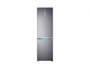 Combina frigorifica Samsung RB41R7837S9, Twin Cooling Plus, Capacitate 406L, Capacitate neta congelator: 130l, Capacitate neta frigider: 276l, Inaltime 2016mm, Latime: 595mm, Adancime 650mm, Functii r0