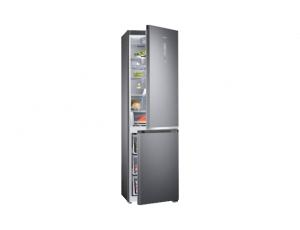 Combina frigorifica Samsung RB41R7837S9, Twin Cooling Plus, Capacitate 406L, Capacitate neta congelator: 130l, Capacitate neta frigider: 276l, Inaltime 2016mm, Latime: 595mm, Adancime 650mm, Functii r5