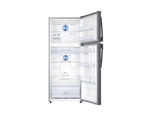 Frigider Samsung RT43K6335SL, Capacitate 440L, Capacitate neta congelator: 111l, Capacitate neta frigider: 329l, Inaltime 1785mm, Latime: 700mm, Adancime 776mm, Functii racire: Twin Cooling Plus/No Fr3