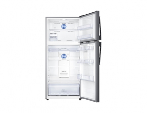 Frigider Samsung RT50K6335SL, Capacitate 500L, Capacitate neta congelator: 125l, Capacitate neta frigider: 375l, Inaltime 1790mm, Latime: 790mm, Adancime770mm, Functii racire: Twin Cooling Plus/No Fro3