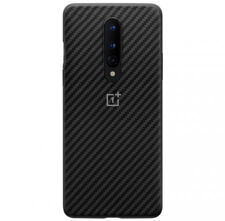 Husa OnePlus 8 Karbon Neagra [0]