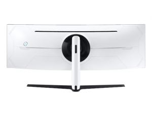Monitor Samsung LC49G95TSSUXEN, 49 inch, Odyssey G9 QLED  Dual-QHD, Curbat, VA, 5120 x 1440, 32:9, 1 (GTG) ms, 1000 cd/m2, 2500:1, 1000R,  Black Equalizer, sRGB 125%,  178°(H)/178°(V),  240Hz,  2*Disp3