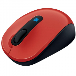 MOUSE MICROSOFT SCULPT MOBILE MOUSE RED1