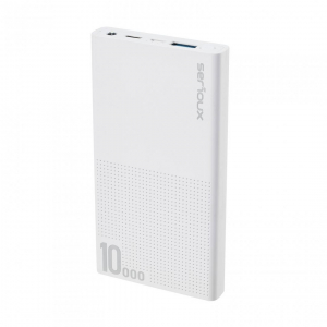 POWER BANK QC SERIOUX 10000 WHITE0