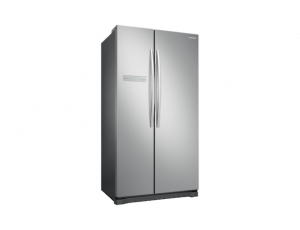 Side by Side Samsung RS54N3003SA, Capacitate 535L, Capacitate neta congelator: 179l, Capacitate neta frigider: 356l, Inaltime 1789mm, Latime: 912mm, Adancime 734mm, Functii racire: Twin Cooling Plus/N1