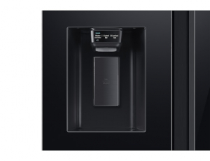 Side by Side Samsung RS65R54112C, Capacitate bruta totala 660L, Capacitate neta congelator: 202l, Capacitate neta frigider: 415l, Inaltime 1780mm, Latime: 912mm, Adancime 716mm, Functii racire: All Ar8