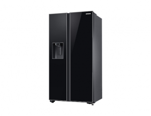 Side by Side Samsung RS65R54112C, Capacitate bruta totala 660L, Capacitate neta congelator: 202l, Capacitate neta frigider: 415l, Inaltime 1780mm, Latime: 912mm, Adancime 716mm, Functii racire: All Ar2