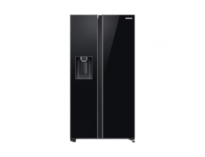 Side by Side Samsung RS65R54112C, Capacitate bruta totala 660L, Capacitate neta congelator: 202l, Capacitate neta frigider: 415l, Inaltime 1780mm, Latime: 912mm, Adancime 716mm, Functii racire: All Ar0