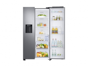 Side by Side Samsung RS68N8321S9, Capacitate 617L, Capacitate neta congelator: 210l, Capacitate neta frigider: 407l, Inaltime 1780mm, Latime: 912mm, Adancime 716mm, Functii racire: Twin Cooling Plus/N6