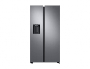 Side by Side Samsung RS68N8321S9, Capacitate 617L, Capacitate neta congelator: 210l, Capacitate neta frigider: 407l, Inaltime 1780mm, Latime: 912mm, Adancime 716mm, Functii racire: Twin Cooling Plus/N0