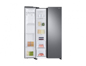 Side by Side Samsung RS68N8321S9, Capacitate 617L, Capacitate neta congelator: 210l, Capacitate neta frigider: 407l, Inaltime 1780mm, Latime: 912mm, Adancime 716mm, Functii racire: Twin Cooling Plus/N5