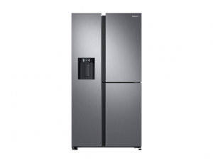 Side by Side Samsung RS68N8650SL, Capacitate 608L, Capacitate neta congelator: 210l, Capacitate neta frigider: 398l, Inaltime 1780mm, Latime: 912mm, Adancime 716mm, Functii racire: Twin Cooling Plus/N0