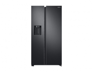 Side by Side Samsung RS68N8650SL, Capacitate 617L, Capacitate neta congelator: 210l, Capacitate neta frigider: 407l, Inaltime 1747mm, Latime: 960mm, Adancime 716mm, Functii racire: Twin Cooling Plus/N0