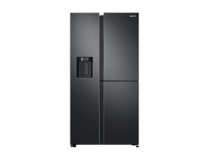 Side by Side Samsung RS68N8671B1, Capacitate 604L, Capacitate neta congelator: 210l, Capacitate neta frigider: 394l, Inaltime 1747mm, Latime: 960mm, Adancime 716mm, Functii racire: Twin Cooling Plus/N0