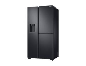 Side by Side Samsung RS68N8671B1, Capacitate 604L, Capacitate neta congelator: 210l, Capacitate neta frigider: 394l, Inaltime 1747mm, Latime: 960mm, Adancime 716mm, Functii racire: Twin Cooling Plus/N2