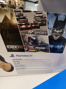 SONY PS VR + DEMO DISC - 8 DEMO GAMES0