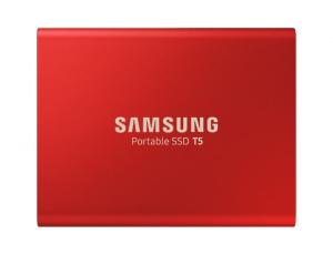 SSD Samsung MU-PA500R/EU, Portabil T5, 500Gb, USB 3.1, 540Mb/s, Red0