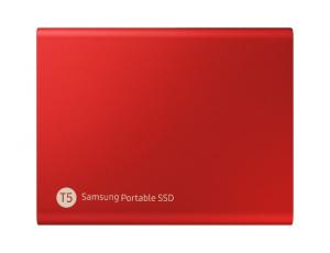 SSD Samsung MU-PA500R/EU, Portabil T5, 500Gb, USB 3.1, 540Mb/s, Red1