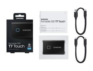 SSD Samsung MU-PC500K/WW, Portabil T7 Touch, 500Gb, USB 3.2, 1050Mb/s, protectie cu amprenta2