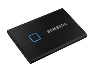 SSD Samsung MU-PC500K/WW, Portabil T7 Touch, 500Gb, USB 3.2, 1050Mb/s, protectie cu amprenta1