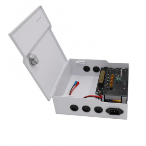 SURSA 5A BACKUP 4CH PTC METAL CCTV [0]