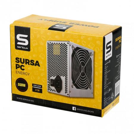 SURSA PC SERIOUX ENERGY 550W VENT 12CM [1]