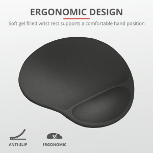 Trust Bigfoot XL Mouse Pad with gel pad2