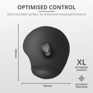 Trust Bigfoot XL Mouse Pad with gel pad0