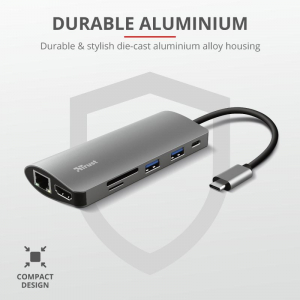 Trust Dalyx 7in1 USB-C Multiport Adapter7