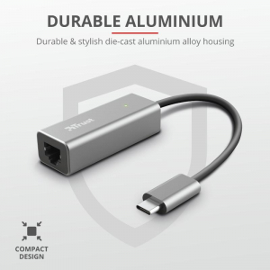 Trust Dalyx USB-C to Ethernet Adapter5