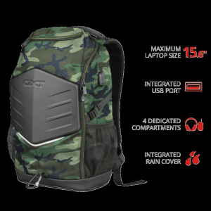 """Trust GXT 1255 Outlaw Backpack Camo 15""""0"""