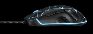 Trust GXT 133 Locx Illuminated Gaming Mo3