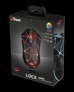 Trust GXT 133 Locx Illuminated Gaming Mo6