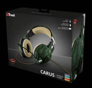 Trust GXT 322C Carus Gaming Headset jung11