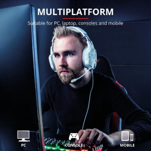 Trust GXT 322W Carus Gaming Headset alb9