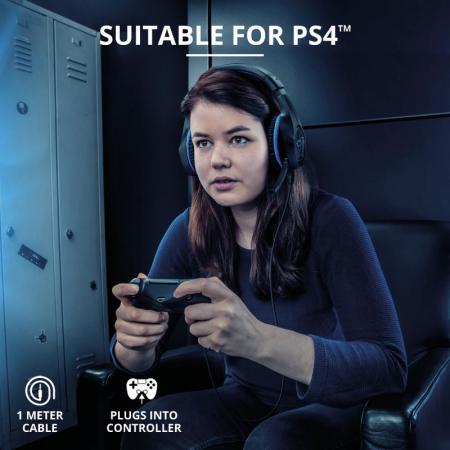 Trust GXT 404B Rana Gaming Headset PS4 [5]