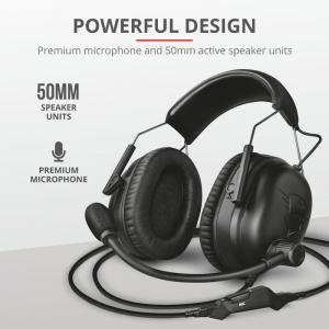 Trust GXT 444 Wayman Pro Gaming Headset6