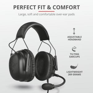 Trust GXT 444 Wayman Pro Gaming Headset5