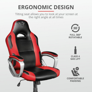 Trust GXT 705R Ryon Gaming Chair - red2