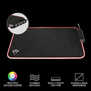 Trust GXT 765 Glide-Flex RGB Mouse Pad7