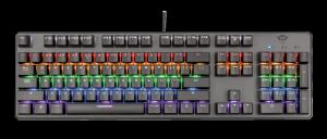 Trust GXT 865 Asta Mechanical Keyboard0