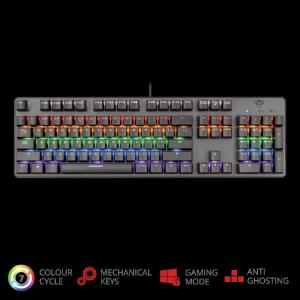 Trust GXT 865 Asta Mechanical Keyboard1